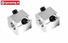 FG6107/02 Alloy Wheel square, L17 mm, 2 pcs