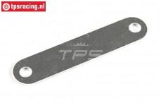 FG6118/08 Aluminum battery holder strip L96 mm, 1 st.