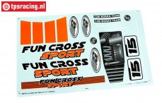 FG6155/02 Decals Fun Cross, set