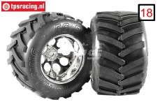 FG6228/07 Monster Truck Medium Gleud, 2 pcs.