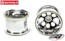 FG6232/04 Stadium Truck Rim Chrome Ø115-B90 mm, 2 pcs.