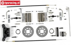 FG6250/06 Tuning cable brakes front, 2WD, Set