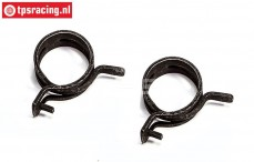 FG6403 Spring band clamp Ø24-H12 mm, 2 pcs.