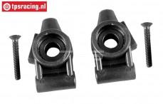 FG6430/01 Plastic Tuning wheelbub rear raised, Set