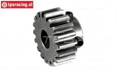 FG6432/17 Steel gear 17T wide, (Ø10-B12 mm), 1 pc