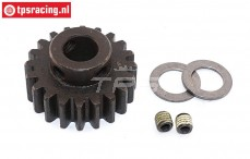 FG6433 Steel gear 20T wide Ø10-B12 mm, 1 pc