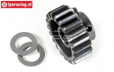 FG6433 Steel gear 20T wide, (Ø10-B12 mm), 1 pc