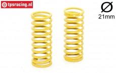 FG6446 Shock Spring yellow Ø2,6-L65 mm, 2 pcs.