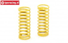 FG6446 Shock Spring yellow Ø2,6-L65 mm, 2 pcs.