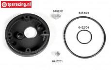 FG6451/03 Air filter adapter without choke Ø62 mm, set.