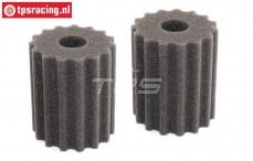 FG6464/04 Air Filter Foam FG, 2 pcs.