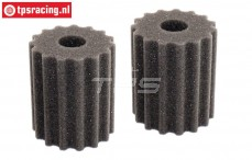FG6464/05 Air filter foam Pre-Oiled, 2 pcs.