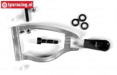 FG6498/02 Aluminium wishbone front adjustable 2WD, set