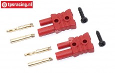 FG6545 FG plug Gold Ø2,0 mm, 2 pcs.