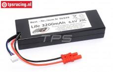 Battery Li-Fe hardcase, (3200 mAh, 6,6 Volt, 20C), 1 pc.