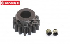 FG66217/01 Steel gear 15T narrow 4WD, 1 pc.
