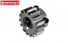 FG66217/01 Steel gear 15T narrow 4WD, 1 pc.
