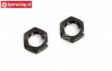 FG66226/02 Hex nut flat, (M10L-H5 mm), 2 pcs