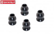 FG66245 Steel ball Ø3-Ø7-H9 mm, 4 pcs