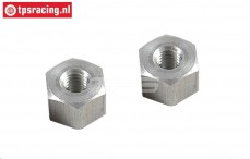 FG66285/01 Alloy spacer M4-10-H7 mm, 2 pcs.