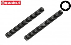 FG66287/02 Scrub Screw M5-L45 mm, 2 pcs