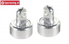 FG66291/02 Alloy upper shock closure, M5-Ø20 mm, 2 pcs.