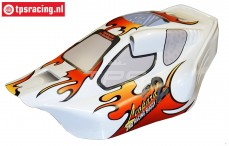 FG67100/02 Body Leopard Sports-Line 2WD White, 1 pc.