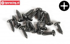 FG6714/09 Pan-head Tapping screw Ø2,9-L9,5 mm, 15 pcs