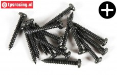 FG6714/19 Pan-head Tapping screw Ø2,9-L19 mm, 15 pcs