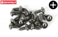 FG6716/13 Pan-head screw Ø4,2-L13 mm, 15 pcs