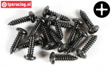 FG6716/16 Pan-head screw Ø4,2-L16 mm, 15 pcs