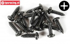 FG6716/09 Pan-head screw Ø4,2-L9 mm, 15 pcs