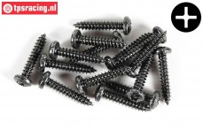 FG6716/25 Pan-head screw Ø4,2-L25 mm, 15 pcs