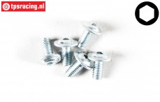 FG6717/06 Button Head Screw M3-L6 mm, 5 pcs.