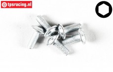 FG6717/08 Button Head Screw M3-L8 mm, 5 St.