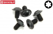 FG6917/16 Torx flange screw M6-L10 mm, 5 pcs.
