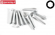 FG6719/20 Countersunk head screw M3-L20 mm, 10 pcs.