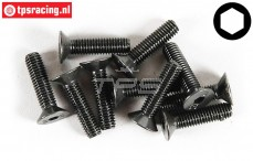 FG6720/25 Countersunk Head Screw M4-L25 mm, 10 pcs