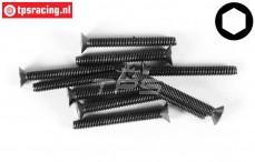 FG6720/35 Countersunk Head Screw M4-L35 mm, 10 pcs