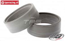 FG67222 Tyre Foam FG, (Ø130-Ø160-B60 mm), 2 pcs.