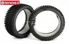 Tire, (FG Mini Pin Evo/M, with foam, Ø130-Ø170-B65), (Medium), 2 pcs.