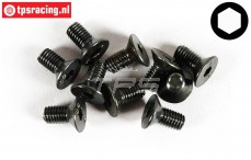 FG6722/10 Countersunk Head Screw M5-L10 mm, 10 pcs