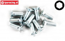 FG6722/14 Countersunk Head Screw M5-L14 mm, 10 pcs