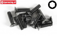 FG6722/20 Countersunk Head Screw M5-L20 mm, 10 pcs