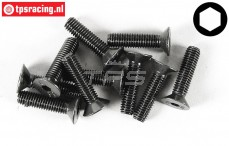 FG6722/25 Countersunk Head Screw M5-L25 mm, 10 pcs