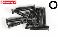 FG6722/30 Countersunk Head Screw M5-L30 mm, 10 pcs