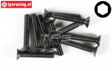 FG6722/35 Countersunk Head Screw M5-L35 mm, 10 pcs