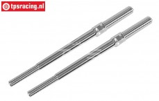 FG67228 Alloy threaded rod M7-L/R-L110 mm, 2 pcs