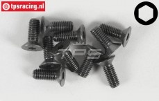 Countersunk Head Screw FG (M6-L16 mm), 10 pcs