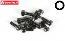 FG6724/06 Socket Head Screw M3-L6 mm, 10 pcs